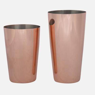 Bar X 770 ml Stainless Steel Cocktail Shaker(Brown)