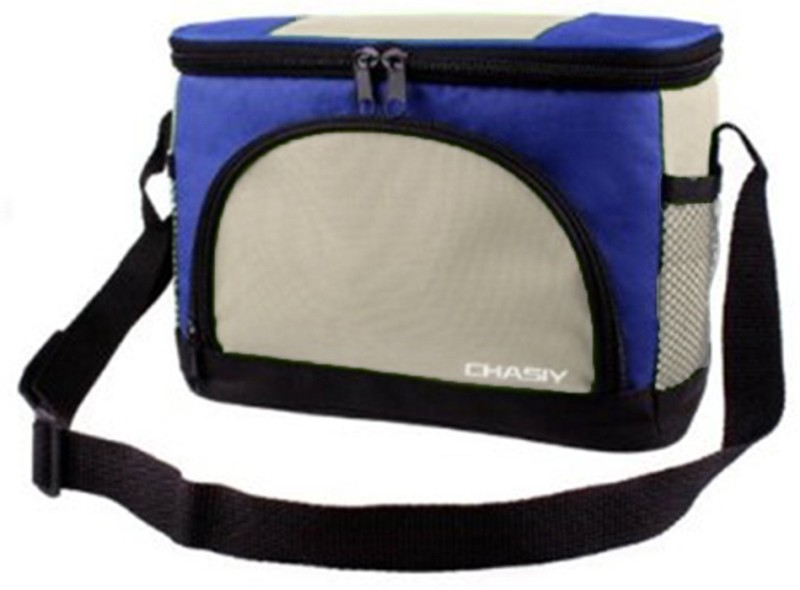 Komfort Polyester Cooler Bag(Blue Collapsible)