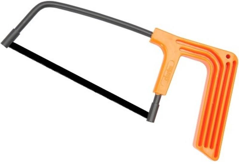 Clarke Clarke Junior Hacksaw Frame Orange Handle Hack Saw(5 inch Blade)