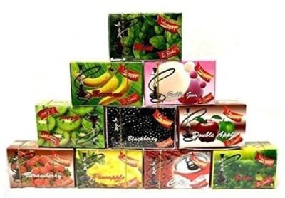Desi Karigar Shisha Assorted Hookah Flavor 50 g, Pack of 10  available at Flipkart for Rs.799