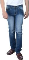 Gangh Jeans (Men's) - Gangh Slim Men's Dark Blue, Light Blue Jeans