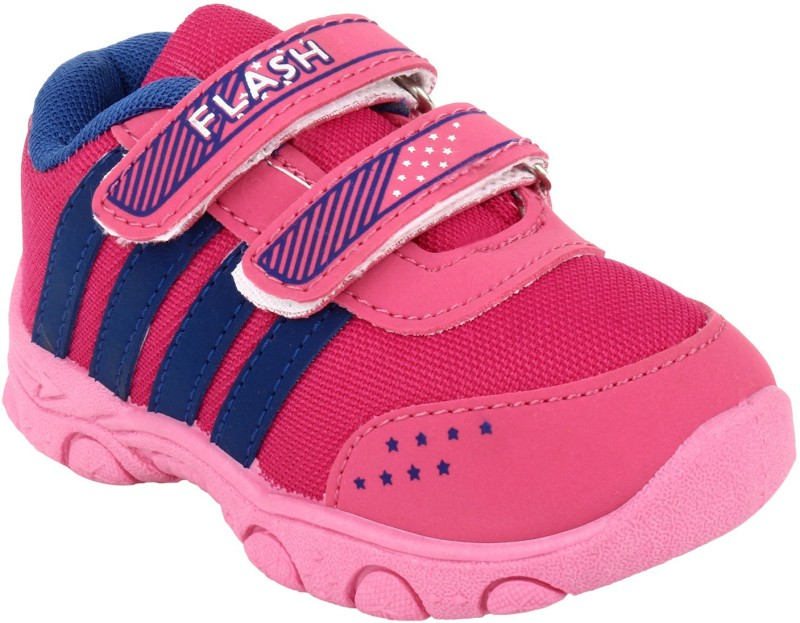 Windy Girls Velcro Casual Boots(Pink)
