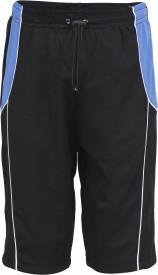 Urban Studio Short For Boys Beach Wear Solid Nylon(Multicolor, Pack of 1)