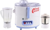 First Choice FirstChoice JMG 450 W Juicer Mixer Grinder(White, 2 Jars)