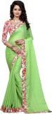 Granth Self Design Bollywood Jacquard Sa...