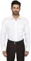 Jadeblue Formal Shirts (Men's) - JadeBlue Men's Solid Formal White Shirt