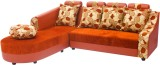 Woodpecker Solid Wood Sectional Rust Sof...