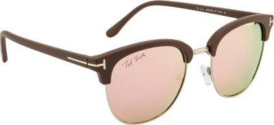 Ted Smith TS-Y9934/S_T51 Over-sized Sunglasses(Grey, Pink)