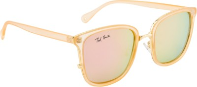 Ted Smith TS-P0816/S_PINK Over-sized Sunglasses(Green, Pink)