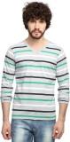 Goodtry Striped Men's V-neck Multicolor ...