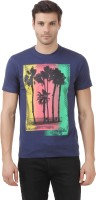 Lotto T Shirts (Men's) - Lotto Printed Men's Round Neck Multicolor T-Shirt