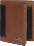 Hidelink Men Tan Genuine Leather Wallet ...