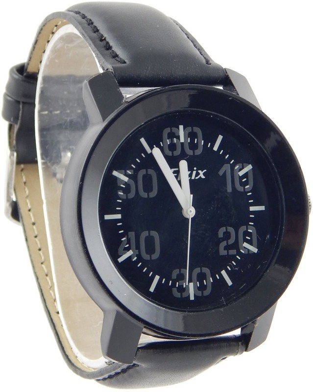 Fizix F A Black Analog Watch For Men