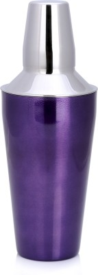 Sharda Corporation 828 ml Stainless Steel Cocktail Shaker(Purple)