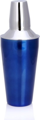 Sharda Corporation 828 ml Stainless Steel Cocktail Shaker(Blue)