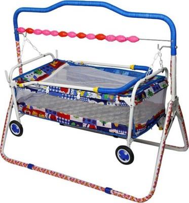 3eab8d217cc Baby Love Baby Cradle Cum Cot Cum Stroller Bassinet(Blue)  Bassinet(Multicolor