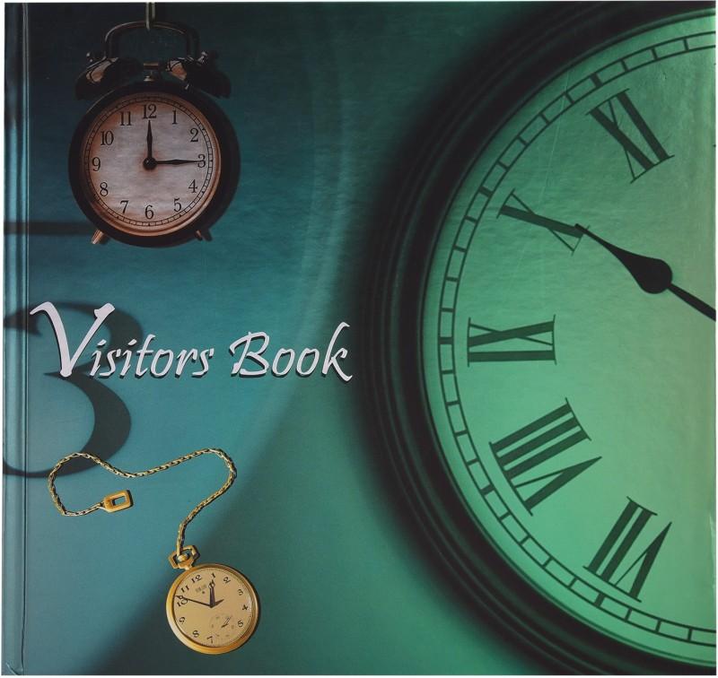 Atlas A4 Visitor's Book(Landscape, Multicolor)