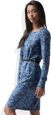 Sela Women's Dark Blue Dress at flipkart