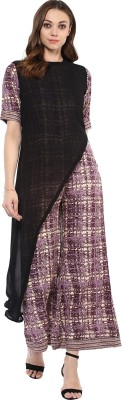 Gerua Women's Kurta and Trousers Set at flipkart