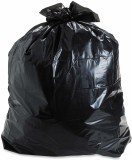 A1 Black Garbage Bags Dust Trash Extra L...