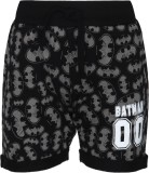 Batman Short For Boys Casual Printed Cot...