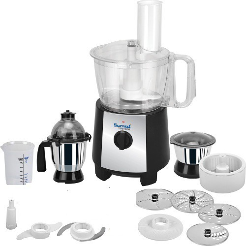 Sumeet Traditional Food Processor FP-999 750 W Juicer Mixer Grinder(Black, 1 Jar)