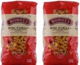 Borges Mini 350 gm (Pack of 2) Fusilli P...