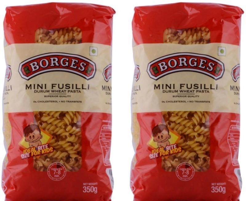 Borges Mini 350 gm (Pack of 2) Fusilli Pasta(350 g)