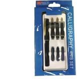 Chrome Pen Set Calligraphy (Pack of 2, B...