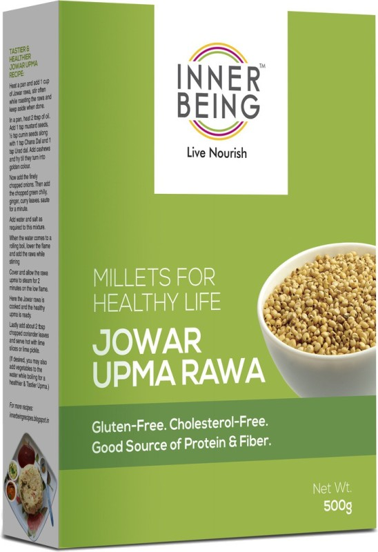 Inner Being Live Nourish Jowar Upma Rawa 500 g