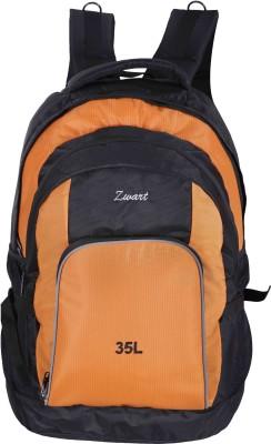 Zwart RUCK-ADVENTURE Rucksack - 35 L(Black, Orange)
