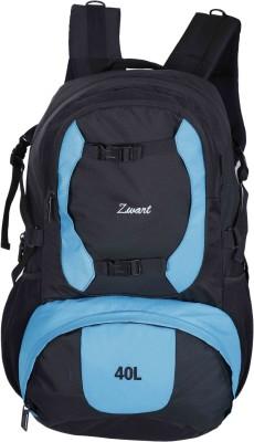 Zwart RUCK-DISCOVER Rucksack - 40 L(Black, Blue)