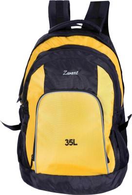 Zwart RUCK-ADVENTURE Rucksack - 35 L(Black, Yellow)