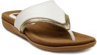 Flat n Heels Women White Flats