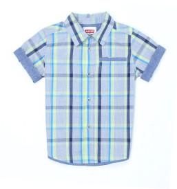 Levi's Boys Striped Casual Multicolor Shirt
