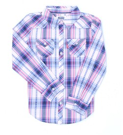 Levi's Girls Striped Casual Multicolor Shirt