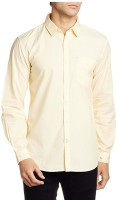 Big Mithila Tradition Formal Shirts (Men's) - Big Mithila Tradition Men's Printed Formal Yellow Shirt