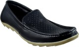 Supreme Leather Loafers (Black)