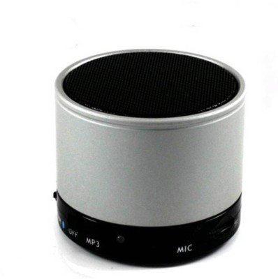 rooq s10silver-18 Portable Bluetooth Mobile/Tablet Speaker(Silver, 2.1 Channel)