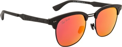 Ted Smith TS-Y9914/S_T-2 Over-sized Sunglasses(Blue, Pink)