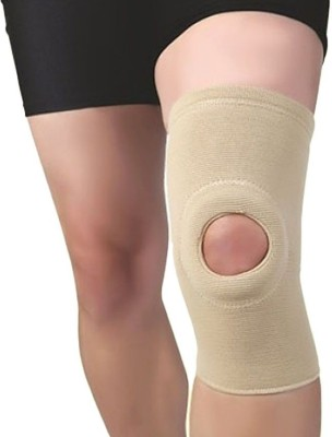 Flamingo GEL PATELLA KNEE CAP Knee, Calf & Thigh Support (L, Beige)