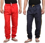 X-Cross Solid Men's Red, Blue Track Pant...