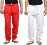 X-Cross Solid Men's Red, White Track Pan...