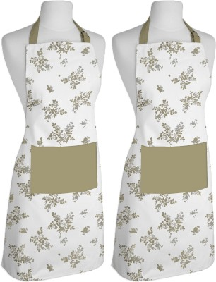 Airwill Cotton Apron Free Size(Multicolor, Pack of 2) at flipkart