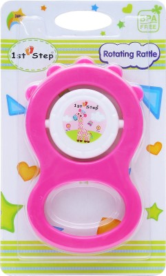 1st Step Rotating Rattle Rattle(Pink)