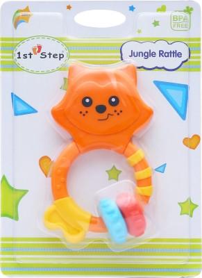 1st Step Jungle Rattle Rattle(Multicolor)