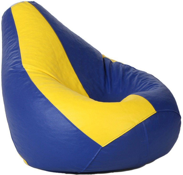 View Kainaat Fashion XL Bean Bag Cover(Yellow, Red) Furniture (Kainaat Fashion)