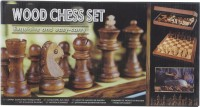 SSB EASY CARRY WOODEN COINS 1 inch Chess Board(Multicolor)