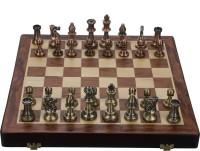SSB Metal peice 11.5 inch Chess Board(Multicolor)