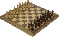 SSB 11 inch folding wooden magnetic 1 inch Chess Board(Multicolor)